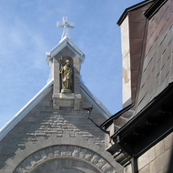 A view of the Chapelle des Ursulines in Quebec.