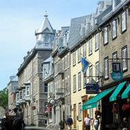 Rue St. Louis in old town Quebec.