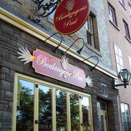 A bakery in old town Quebec.