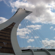 The Montreal Olympic Tower.