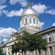 The Bonsecours Market in old Montreal.