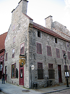 Thumbnail image ofA building in old Montreal.