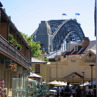 The Sydney Harbour Bridge from