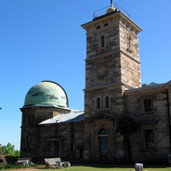 The Sydney Observatory, founded in 1857.