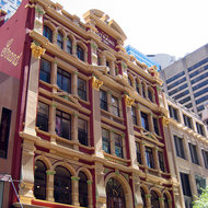 An historic building in downtown Sydney.