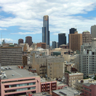 A view of downtown Melbourne.