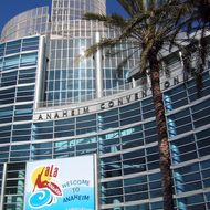 The Anaheim Convention Center during the 2008 American Library Association Conference.
