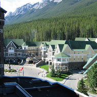 The Conference Center of the Banff Springs Hotel in Banff National Park.