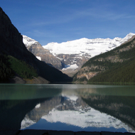 Lake Louise in Banff National Park.