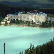 Chateau Lake Louise from Fairview Lookout.