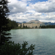 Chateau Lake Louise in Banff National Park.