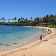 Kapalua beach on Maui.