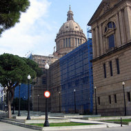 The Museu Nacional d'Art de Catalunya (the National Art Museum of Catalonia).