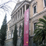 The Biblioteca Nacional de España in Madrid.