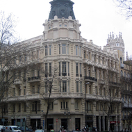 A building in Madrid.