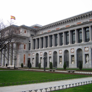 The Prado Museum in Madrid.