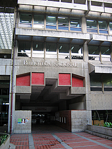 Thumbnail image of The Biblioteca Nacional de Venezuela -- The National...