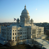 The Rhode Island State Capitol building in Providence, RI.