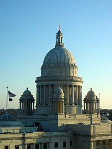 Thumbnail image ofThe Rhode Island State Capitol building in Providence,...