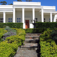 The Agoston Haraszthy Villa in Sonoma.