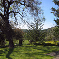 A view from the Agoston Haraszthy Villa in Sonoma.