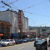 The Castro Theatre in the Castro District, San Francisco.