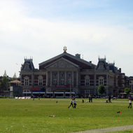 The Concertgebouw (concert hall) in Amsterdam, near the Van Gogh Museum and the Rijksmuseum.