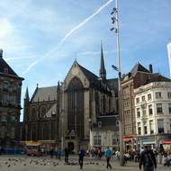 The Nieuwe Kerk (New Church) at Dam Square.