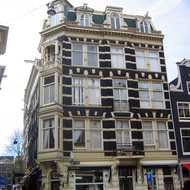A typical building in old Amsterdam.