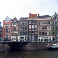 A typical Amsterdam scene.