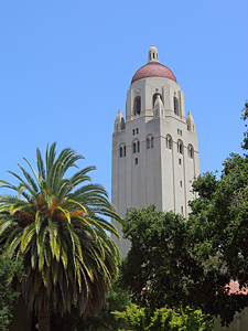 Thumbnail image of Hoover Tower at Stanford University.