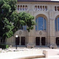 Meyer Library at Stanford University.