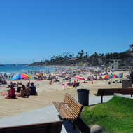 Laguna Beach in Southern California.