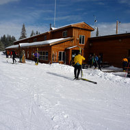 The Tahoe-Donner Cross Country Ski Center near Truckee.