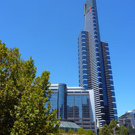 A Melbourne high-rise building.