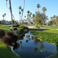 The Rancho Las Palmas resort at Palm Springs.