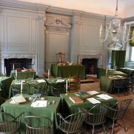 The room in Independence Hall, Philadelphia, where the U.S. Constitution was drafted. Independence Hall in Philadelphia, where the U.S. Constitution was drafted.