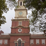 Congress Hall in Philadelphia.