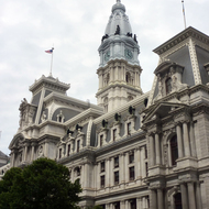 The Philadelphia City Hall.