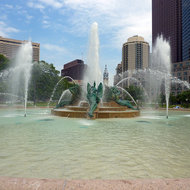 Logan Square Fountain, Philadelphia.