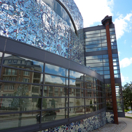 The exterior of the amazing American Visionary Art Museum, a must-see place in Baltimore.