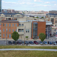 The exterior of the amazing American Visionary Art Museum as seen from Federal Hill Park, a must-see place in Baltimore.