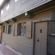 Paul Revere's house in Boston.