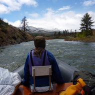 A river trip on the East Fork of the Carson River in California and Nevada.