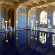 The indoor pool at Hearst's Castle.
