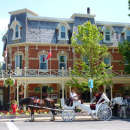 The Prince of Wales hotel at Niagara-on-the-Lake near Niagara Falls.