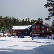 The Lodge at the Royal Gorge Crosscountry Ski Resort.