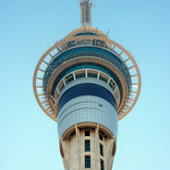 The Auckland, New Zealand Sky Tower.