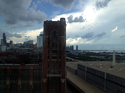 Thumbnail image ofA View of Chicago from the Hyatt McCormick Place...