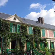 Monet's house at Giverny.